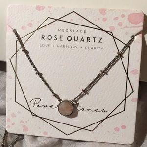 Francesca's Collections Jewelry - Francesca's rose quartz necklace